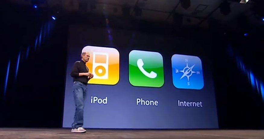 השקה של אייפון הראשון