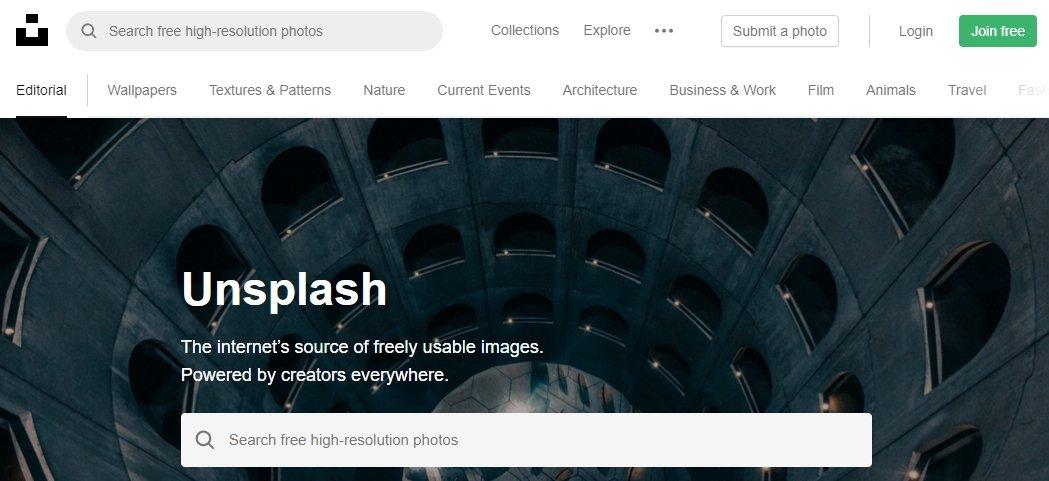 אתרי תמונות חינם
